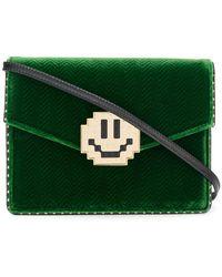Les Petits Joueurs - Face Embellished Crossbody Bag - Lyst