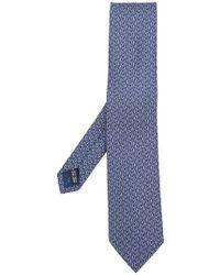 Ferragamo - Penguin Print Tie - Lyst
