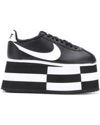 Nike Comme Garcons X Semelle Des À Baskets Plateforme wPnk08OX