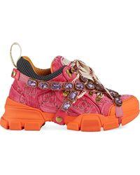 Gucci Flashtrek Sneaker - Pink