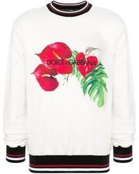 Dolce & Gabbana - トロピカル スウェットシャツ - Lyst