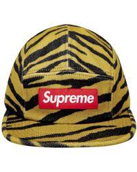 Supreme Tiger Camp Cap - Yellow
