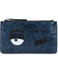 Chiara Ferragni Blinking Eye 財布 - ブルー