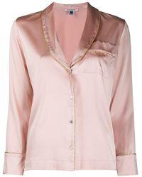 Gilda & Pearl Pyjama à liserés métallisés - Rose