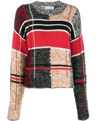 BROGNANO パッチワーク セーター - マルチカラー