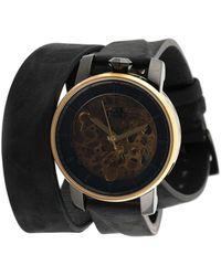 FOB PARIS Наручные Часы R360 Gold 36 Мм - Черный