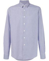 Dell'Oglio - Fine Stripe Shirt - Lyst