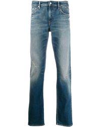 Calvin Klein Vaqueros con efecto lavado - Azul