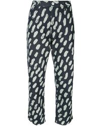 Marni Graphic Print Jeans - Blue