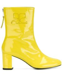 Courreges - Retro Zipped Ankle Boots - Lyst