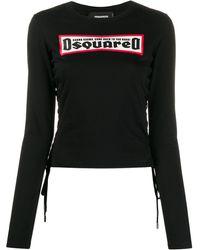 DSquared² - ロゴ ロングtシャツ - Lyst