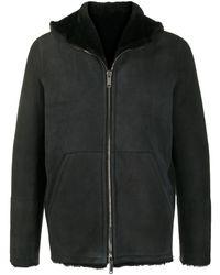 Tagliatore フーデッドジャケット - ブラック