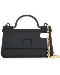 Dolce & Gabbana Handbag Iphone X Case - Black