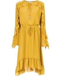 Olympiah Juli Long Sleeve Dress - Желтый
