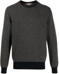 N.Peal Cashmere Micro-pattern Sweater - Blue