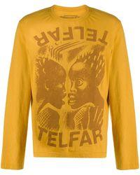 Telfar - グラフィック ロングtシャツ - Lyst