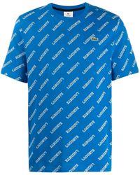 Lacoste L!ive ロゴ Tシャツ - ブルー