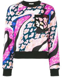 Emilio Pucci - Abstract Print Sweatshirt - Lyst