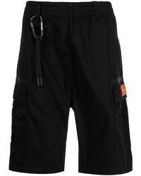 Izzue Short à poches cargo - Noir