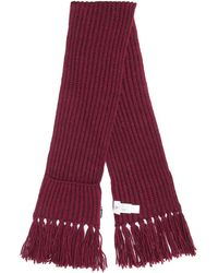 Rossignol Diago Chunky Knit Scarf - Red