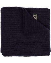 EA7 ロゴ スカーフ - ブルー