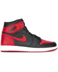 Nike 'Air Jordan 1 Retro High OG Banned' Sneakers - Rot
