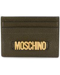 Moschino - Logo Cardholder - Lyst