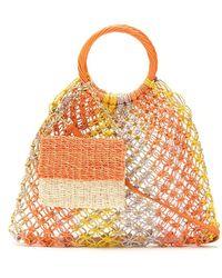 Serpui Gehäkelte Handtasche - Orange