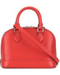 Louis Vuitton Pre-owned Nano Alma Crossbody Bag - Red