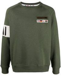 Alpha Industries スローガン スウェットシャツ - グリーン