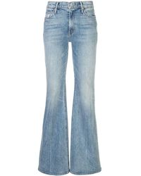 Mother Jeans svasati The Doozy - Blu