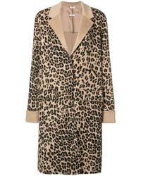 P.A.R.O.S.H. - Leopard Coat - Lyst