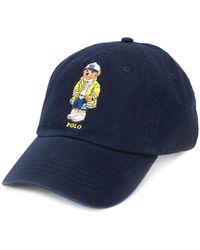 Ralph Lauren ロゴ キャップ - ブルー
