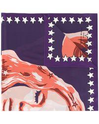 Sonia Rykiel - Printed Stud Embellished Scarf - Lyst