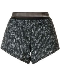 DKNY - Printed Elasticated Shorts - Lyst