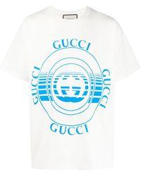 Gucci Футболка С Логотипом - Белый