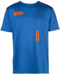 Heron Preston ロゴ Tシャツ - ブルー
