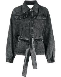 Ba&sh Jacky デニムジャケット - ブラック