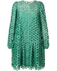 N°21 カットアウト ドレス - グリーン