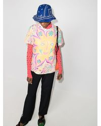 ARIZONA LOVE Bob Bandana-print Bucket Hat - Blue