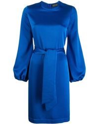 Gianluca Capannolo - Satin Shift Dress - Lyst