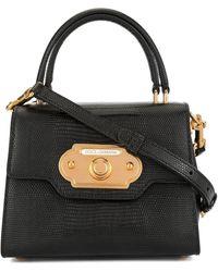Dolce & Gabbana Bolso Welcome mini - Negro