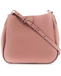 Ferragamo Gancini Hobo Bag - Pink