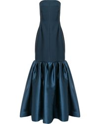 Solace London Ari Maxi Gown - Blue