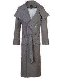 Y. Project Technical trench coat - Grigio
