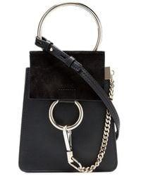 Chloé Faye Small Bracelet Bag - Zwart