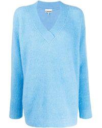 Ganni - オーバーサイズ セーター - Lyst