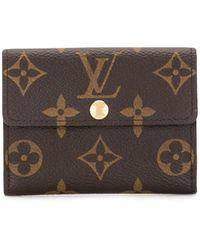 Louis Vuitton Pre-owned Monogram Ludlow Coin Case - Brown