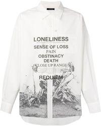 Christian Dada - Printed Classic Shirt - Lyst