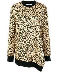 Vivetta - Asymmetric Sweatshirt - Lyst